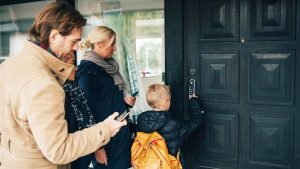 Smart Lock Installation Builds Safer Communities